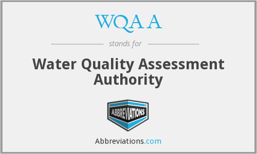 WQAA - Water Quality Assessment Authority
