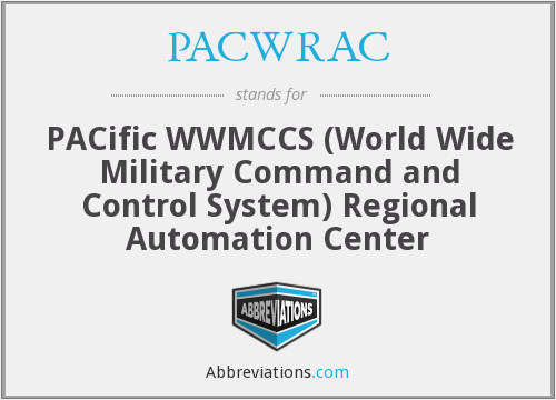 What does PACWRAC stand for?