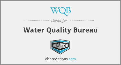 WQB - Water Quality Bureau