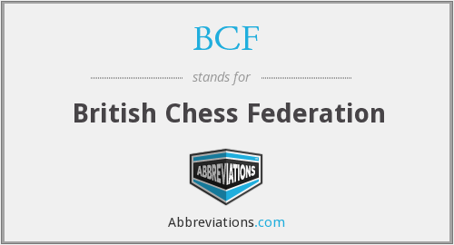 BCF - British Chess Federation