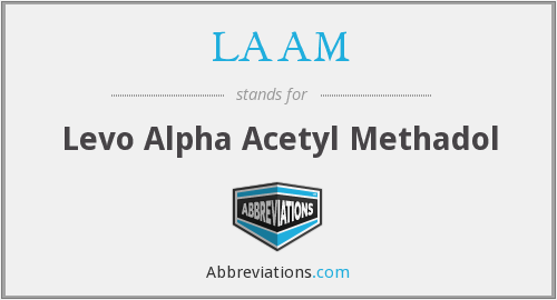 What does LAAM stand for?