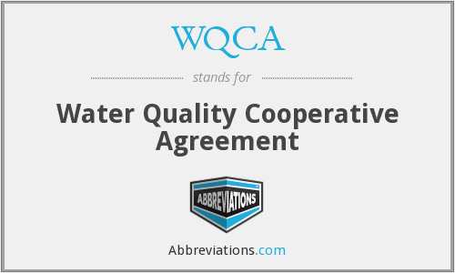 What does WQCA stand for?