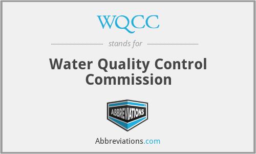 WQCC - Water Quality Control Commission