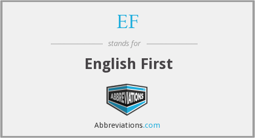 EF - English First