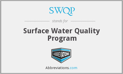 SWQP - Surface Water Quality Program