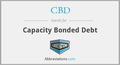 CBD - Capacity Bonded Debt
