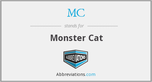 MC - Monster Cat