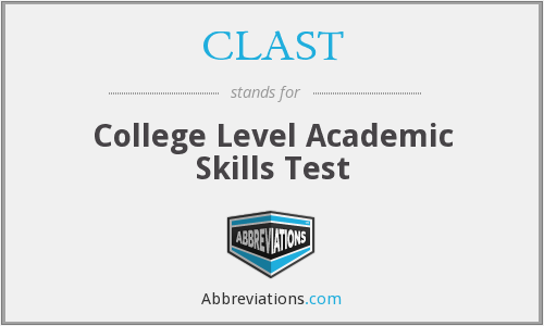 What does CLAST stand for?