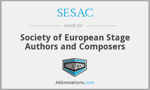 What does SESAC stand for?