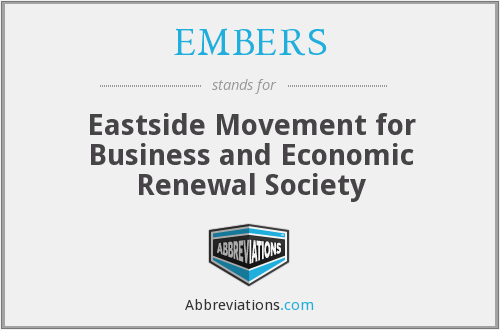 EMBERS - Eastside Movement for Business and Economic Renewal Society