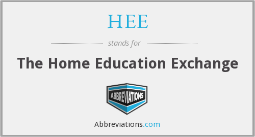 What does HEE stand for?