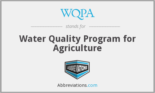 What does WQPA stand for?