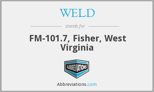 WELD - FM-101.7, Fisher, West Virginia