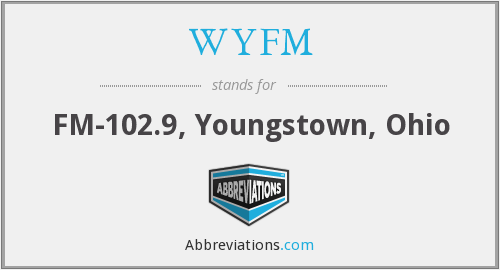 WYFM - FM-102.9, Youngstown, Ohio