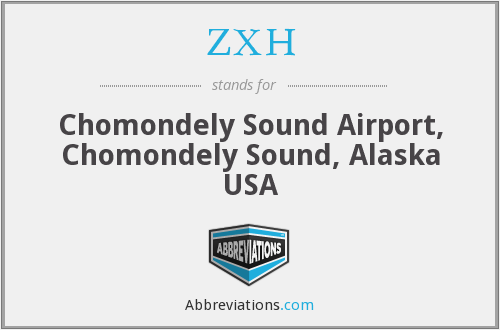 ZXH - Chomondely Sound Airport, Chomondely Sound, Alaska USA