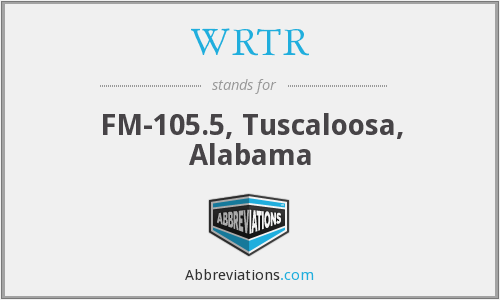 WRTR - FM-105.5, Tuscaloosa, Alabama