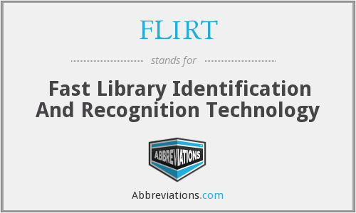 FLIRT - Fast Library Identification And Recognition Technology