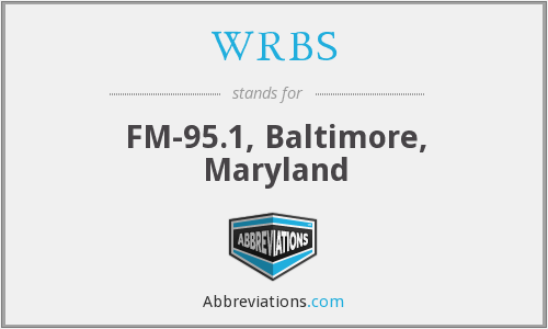 WRBS - FM-95.1, Baltimore, Maryland