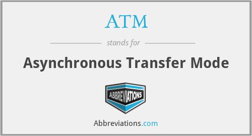 ATM - Asynchronous Transfer Mode