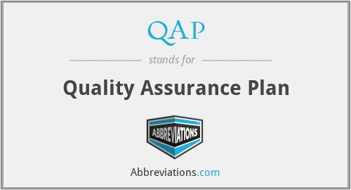 QAP - Quality Assurance Plan