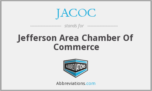 JACOC - Jefferson Area Chamber Of Commerce