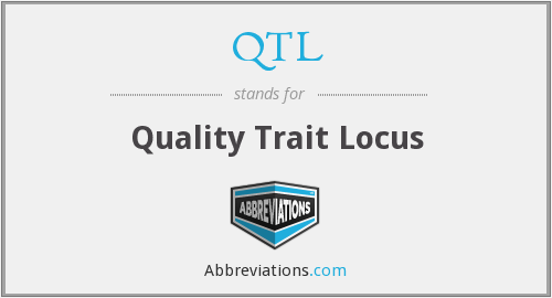 QTL - Quality Trait Locus