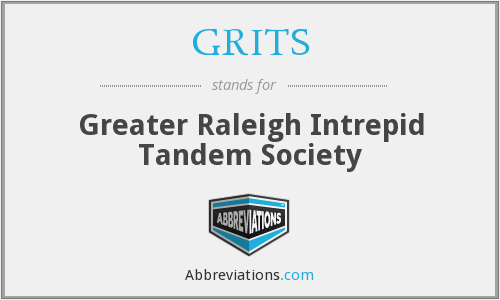 GRITS - Greater Raleigh Intrepid Tandem Society