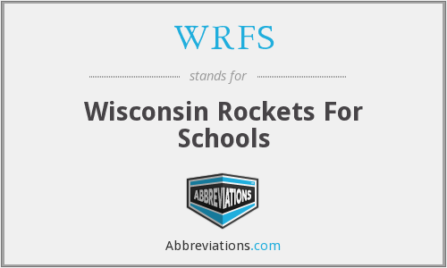 WRFS - Wisconsin Rockets For Schools