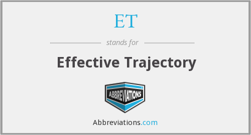 ET - Effective Trajectory