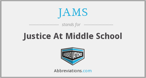 JAMS - Justice At Middle School