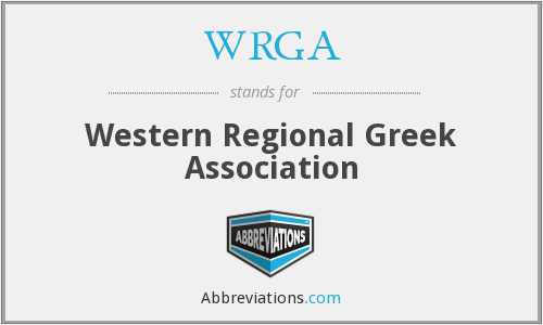 What does WRGA stand for?