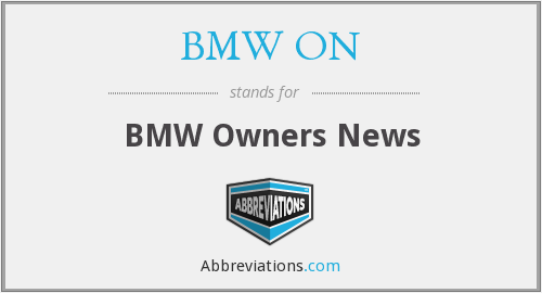 BMW ON - BMW Owners News