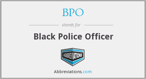 BPO - Black Police Officer