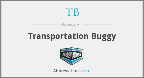 TB - Transportation Buggy