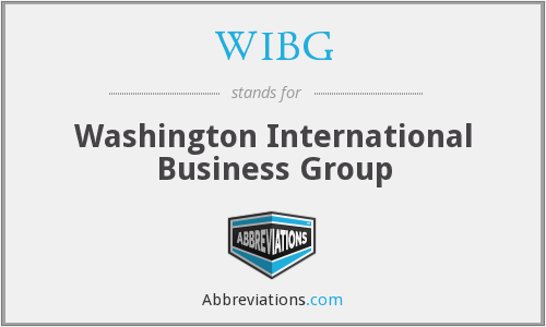 WIBG - Washington International Business Group