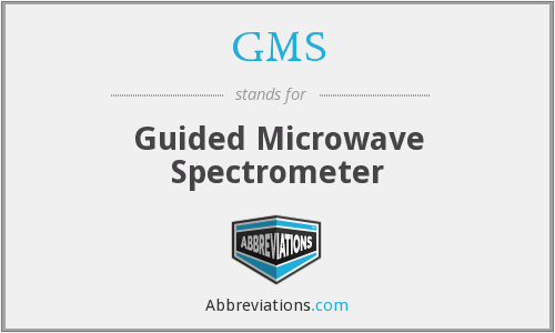 GMS - Guided Microwave Spectrometer