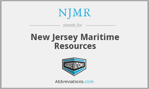 NJMR - New Jersey Maritime Resources