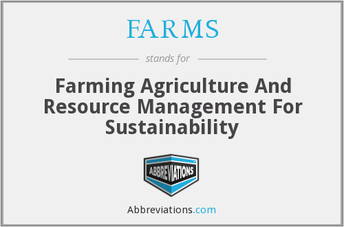 FARMS - Farming Agriculture And Resource Management For Sustainability