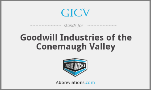 What does GICV stand for?