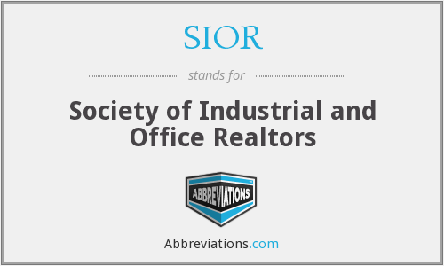 What does SIOR stand for?