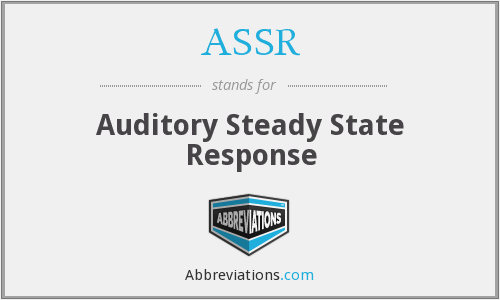 What does ASSR stand for?