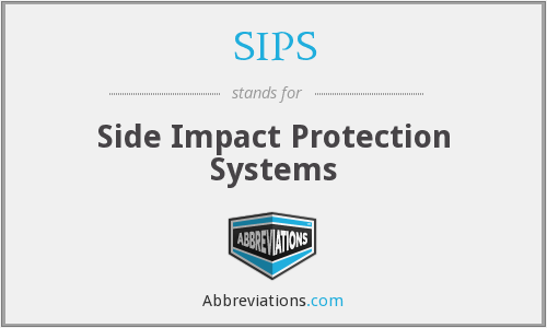 SIPS - Side Impact Protection Systems