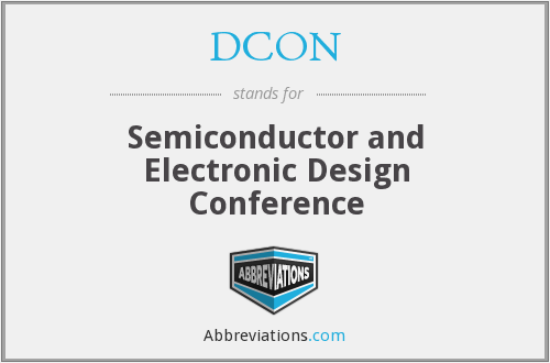 What does DCON stand for?