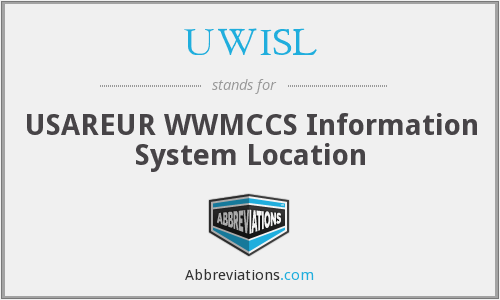 What does UWISL stand for?