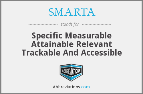 What does SMARTA stand for?