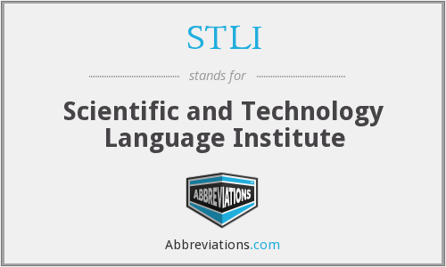 What does STLI stand for?