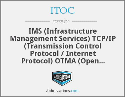 ITOC - IMS TCP/IP OTMA Connection