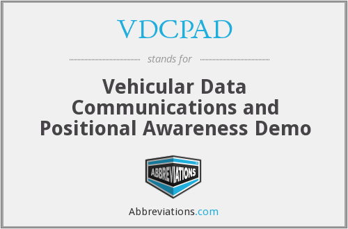 What does VDCPAD stand for?