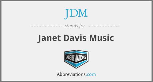 JDM - Janet Davis Music