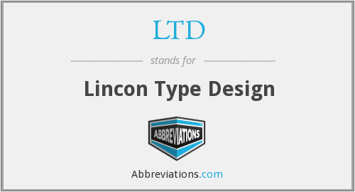 LTD - Lincon Type Design